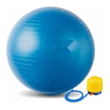 Pelota Balon Pilates Yoga + Inflador  55 Cms Gym Ball Profit
