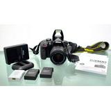 Nikon D3400+lente18-55,2baterías+sd,solo 3000disparos,10/10!