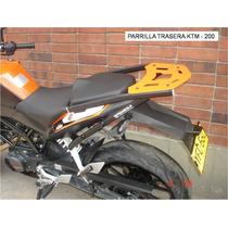 Parrilla De Lujo Moto Ktm Duke 200 Para Baul, Maletero.