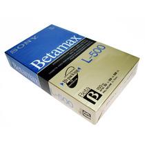 Cassette Betamax Sony Para Video, Nuevo Original, Sellado.