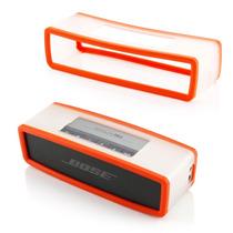 Forro Silicona Para Parlante Bose Soundlink Mini Naranja