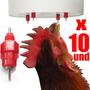 Bebederos Tipo Niple Para Pollos Aves Y Mucho Más.. X 10 Und