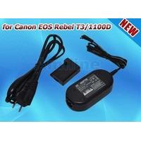 Adaptador Ac & Acoplador Dc Para Canon Ack-e10 Eos Rebel T3