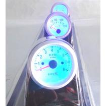 Relojes Triples De R.pm., Temperatura, Voltimetro Y La Base
