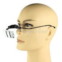 Gafas Lupa 3 Lentes Con Luz Led Leer Odontologia Joyeria Etc