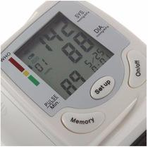 Tensiómetro Digital Muñeca Medidor Presión Arterial Y Pulso