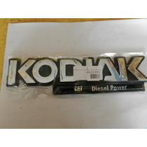Emblema Kodiak Chevrolet Kodiak