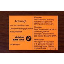 Bmw Calcomania Naranja Original Bmw Teile E12 E21 E30 E28