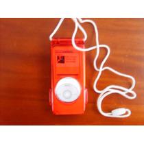 Estuche Acrilico Ipod Nano, Nuevo!!! Carcasa Roja Translucid