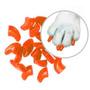 ¡ Protector De Uñas Para Gatos Nails Caps-naranja - T.l !!