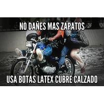Botas Impermeable Cubre Calzado Moto Hasta La Rodilla