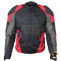 Chaqueta Moto Hombre Con Protecciones Impermeable Importada