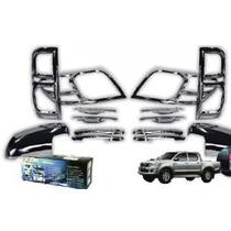Kit Cromos De Lujo Toyota Hilux Vigo 12-15 18 Piezas Oferta