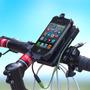 Bateria Power Bank Linterna Luz Led Bicicleta Agua + Soporte