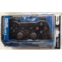Control Analogo - Negro - Playstation 1 O 2 - Ps1 Ps2