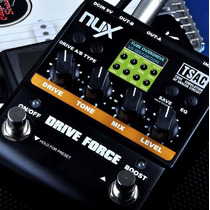 Pedal Multiefectos Nux Drive Force Modelador De Distorsiones
