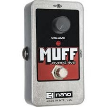 Pedal Muff Overdrive Electro-harmonix Made In Usa