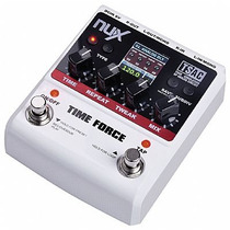 Pedal Delay Nux Time Force Stereo Guitarra + Adaptador