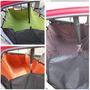 Cobertor Protector Forro Asiento Trasero Auto Mascotas Env/g