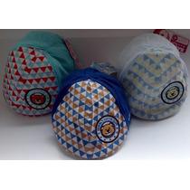 Gorritas Bordadas Osito Feliz Para Bebe 0-18 M Oto Caps Baby