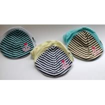 Gorritas Bordadas Marinera Para Bebe 0-18 M Oto Caps Baby
