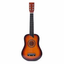 Super Guitarra Acustica En Madera Para Niños-niñas
