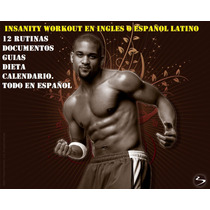 Insanity Workout Deluxe En Español Latino