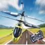 Helicoptero Control Remoto 3.5c Luz, Repuesto Pilas E/gratis