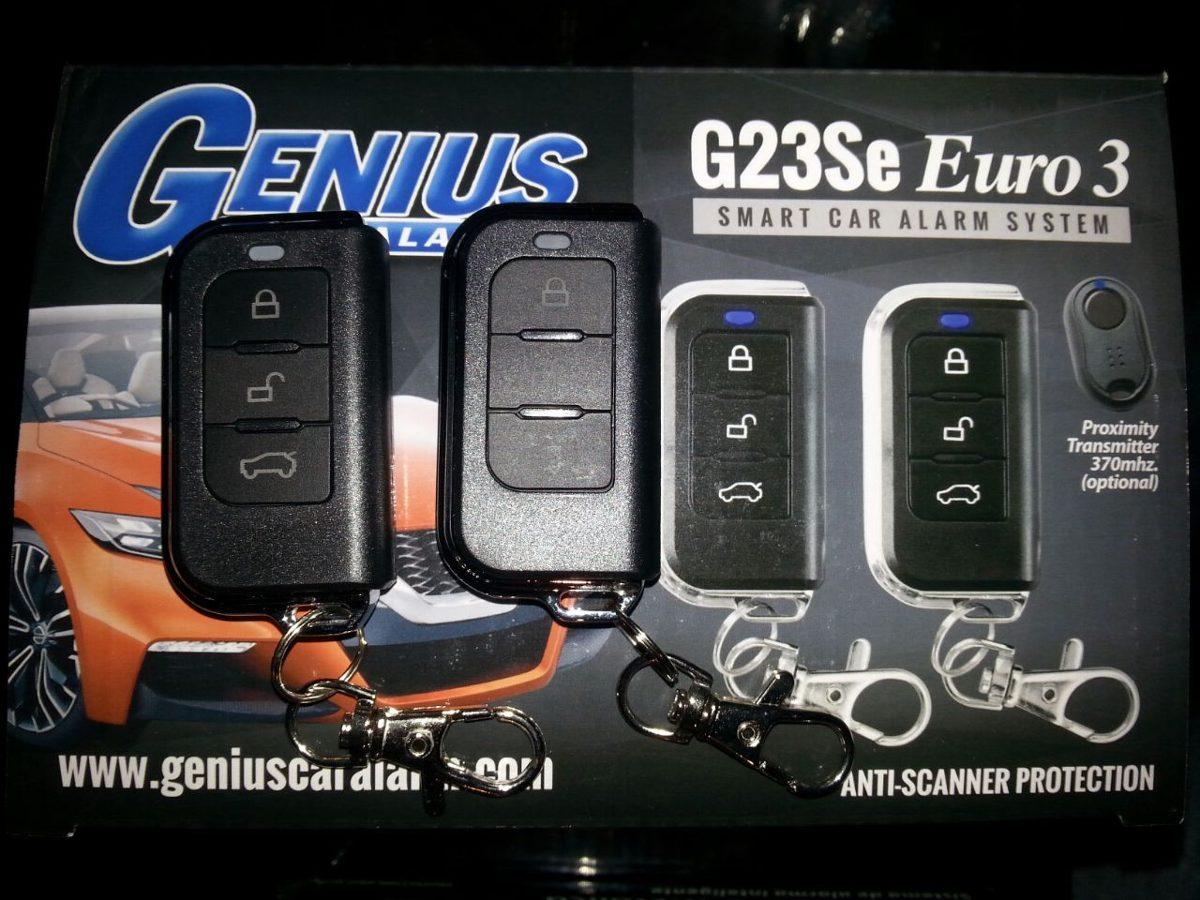 Alarma Genius Para Carro Control Metálico. - $ 74.990 en MercadoLibre
