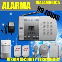 Alarma Inalambrica - Aptos,casas,bodegas - Auto Marcado