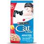 Cat Chow Adultos Activos X 8 Kg (sabor A Carne)