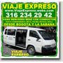 Viaje Expreso, Vans Con Conductor, Transporte De Pasajeros