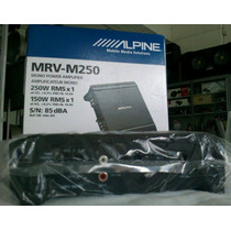 Amplificador Alpine Mrv - M250 Digital 250 Watts Para Subwof