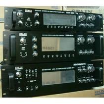 Amplificador Spain Sa 52 Usb 500w Tuner