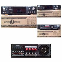 Equipo De Sonido Profesional Spain.amplificador Y 2 Cabinas