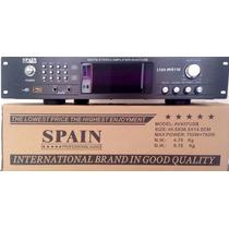 Amplificador De 1500 Watts Usb Am Y Fm Bluetooth