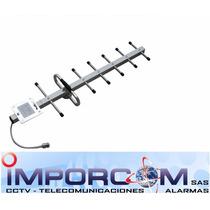Antena Yagi Para Amplificador Celular 11db 800mhz