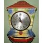 Reloj Antiguo En Porcelana