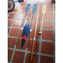Juego De Remos Y Pesca Antiguos X 5 Piezas