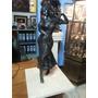 Escultura Calamina Francesa En Antimonio Mujer Ninfa
