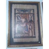 Papiro Egipcio Grande De Coleccion