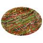 Bandeja De Navidad - 12-inch Plástico Redondo W Caramelo Di