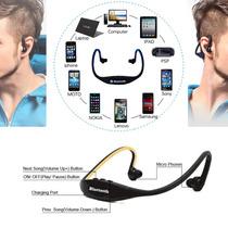 Audifonos Inalambricos-diadema Deportiva Bluetooth- Microfon