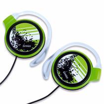 Audífonos Ultra Slim De Enganche En La Oreja Genius Ghp-300b