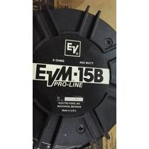 Parlante Electro Voice Evm 15 B Pro-line