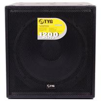 Bajo Subwoofer Amplificado 18´´ 1200 Wtts Tyg Swa780c18