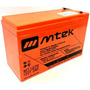 Mtek 12v - 7.2 Ah Batería Sellada Libre De Mantenimiento