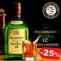 Caja De Whisky Buchanans O Chivas De 750ml (estampillado)