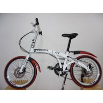 Bicicleta Plegable Rin 20 7 Cambios Shimano