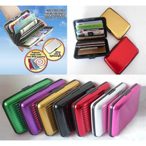 Wallet Billetera Aluma Full Color Y Estampada De Moda Import